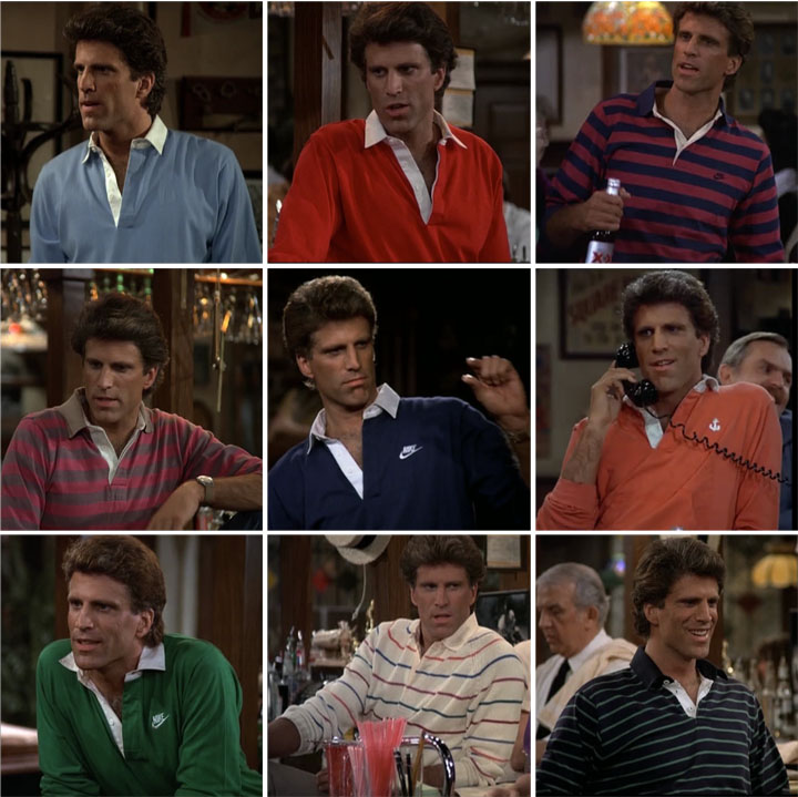 sam malone cheers to carla