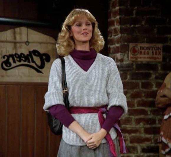 Diane Chambers Cheers To Carla